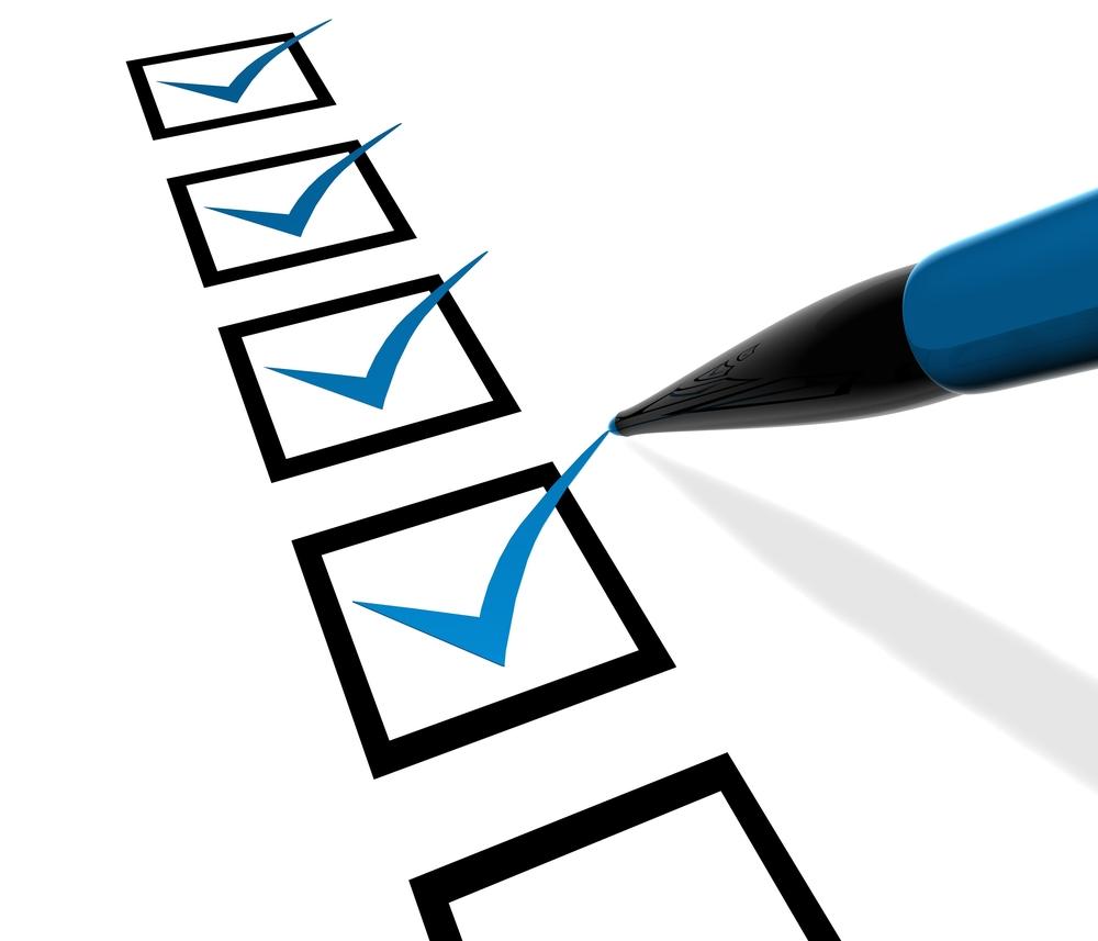 Blog 4- checklist- ready